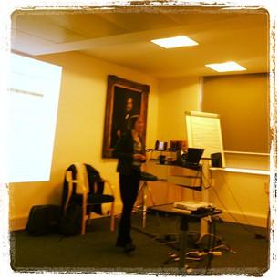 Helen Clegg speaking