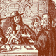 Titus Oates claims that there is a Catholic plot against the King's life