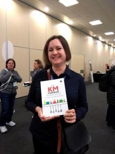 Emily Hopkins, winner of the KM Cookbook